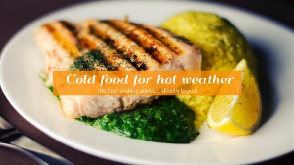 白色食物主题封面