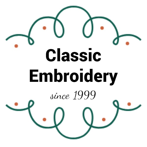 白色古典刺绣商店封面图