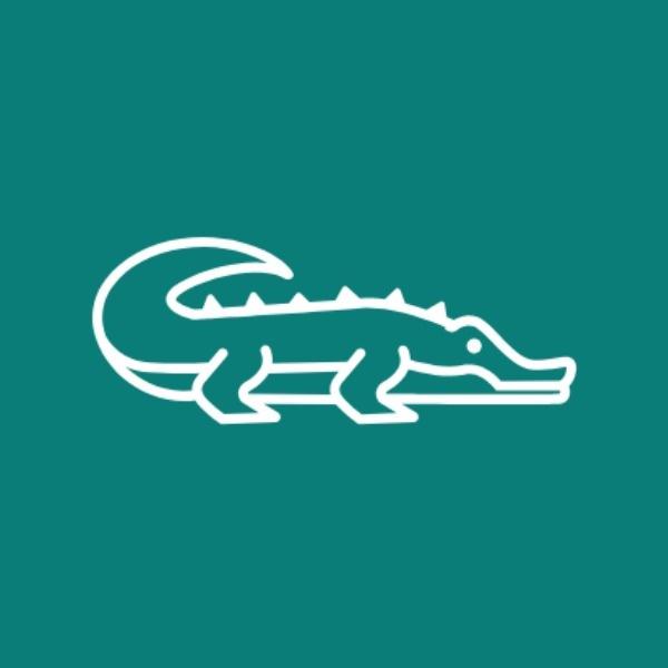 绿色简约鳄鱼商店图标