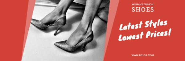 红色鞋子销售封面