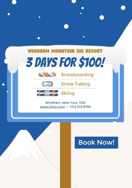 Ski Resort Promotion