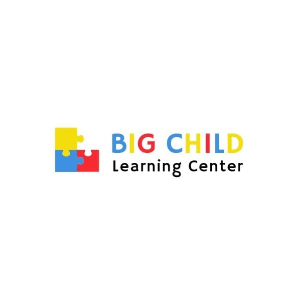 儿童教育Logo模板
