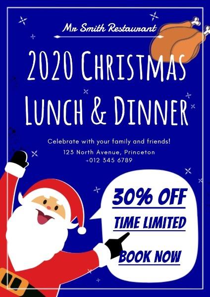 餐厅圣诞节活动