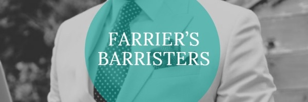 FARRIERS BARRISTERS