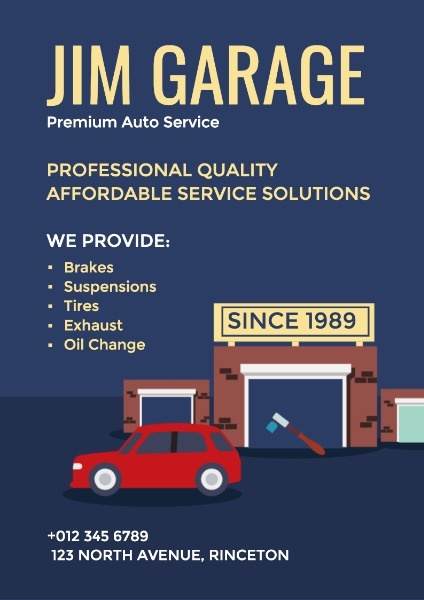 1989年Jim优质的汽车修理厂