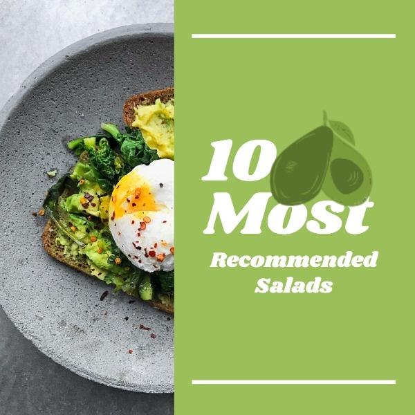 Modern Salads Recommendation