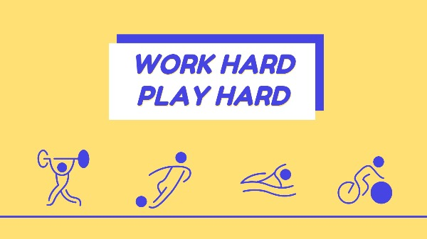 工作运动健身