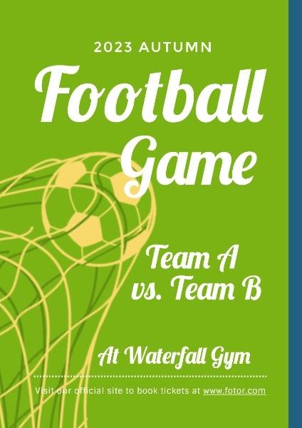 Green Football Event