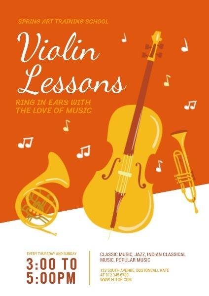 小提琴春天艺术培训学校
