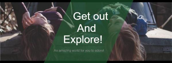 绿色人物主题封面