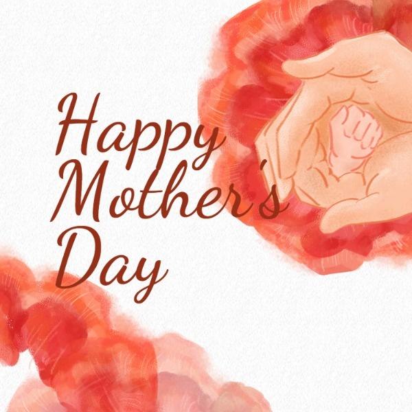 妈妈的爱母亲节快乐