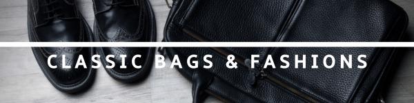 黑色时尚皮包商店封面图