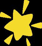 星星装饰装饰元素发光发亮
