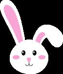 兔子小白兔卡通可爱粉色