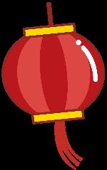 灯笼红灯笼装饰装饰元素节日