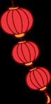 灯笼红灯笼卡通中国风装饰