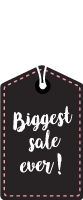标签吊牌sale商标促销