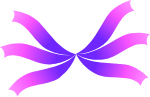 彩带飘带丝带紫彩带紫色彩条