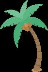 植物绿植椰子树树树木