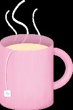 杯子茶杯饮品装饰装饰元素