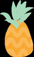 菠萝水果食物夏天黄色