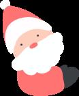 圣诞老人人人物人像歪头
