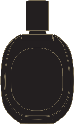香水瓶剪影品牌装饰装饰元素