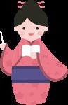 老师和服日本女孩可爱