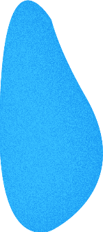 色块装饰元素装饰异形蓝色