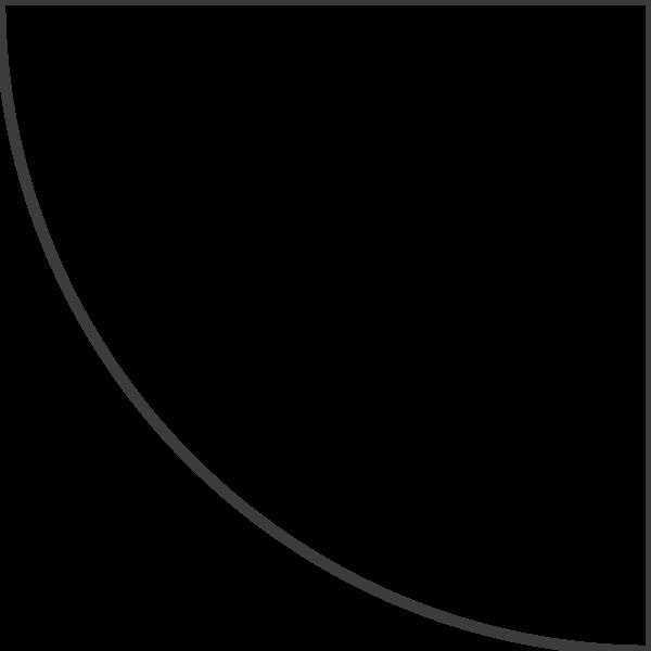 扇形几何图形框边框线框
