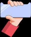 手手指手臂手机壳卡