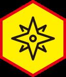 星星图标标志标识装饰