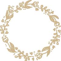 花边花纹花花环圆环