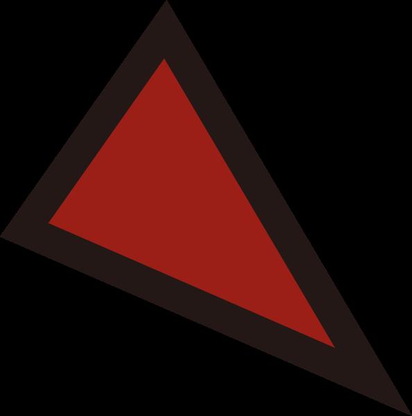 三角形面容装饰装饰装饰元素恐怖