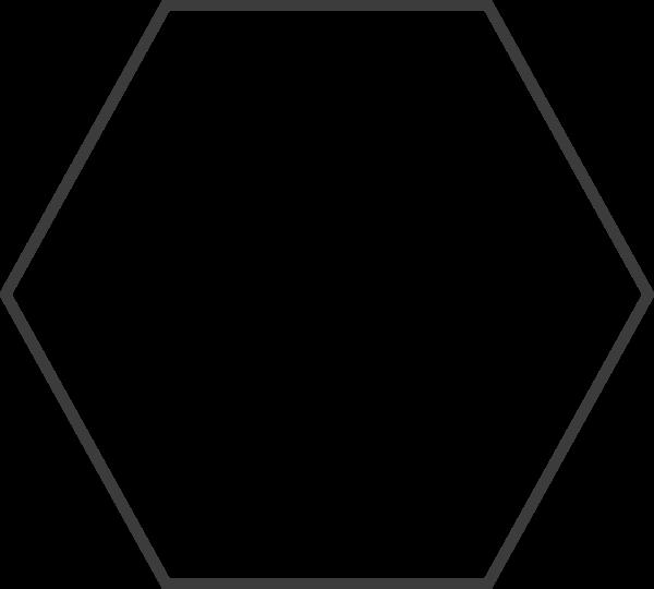 六边形正六边形框边框几何