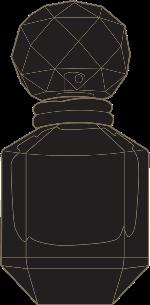 香水瓶香水剪影品牌装饰
