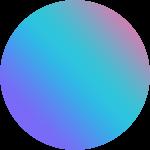 圆紫色渐变电商元素