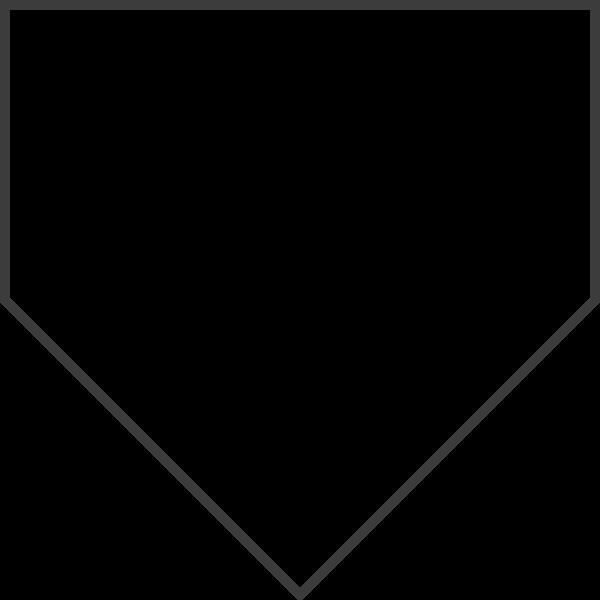 几何五边形框边框标签