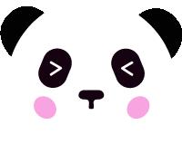 熊貓大熊貓頭像熊貓眼國寶
