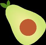 食物美食生鲜水果牛油果