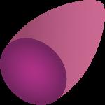 水果紫薯紫色