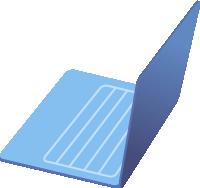 电脑笔记本电脑显示器卡通装饰