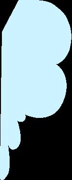 色块几何图形装饰装饰元素蓝色