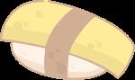 食物寿司日料黄色美食