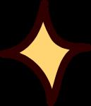 星星四角星装饰装饰元素卡通