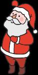 圣诞老人男人男性老人人
