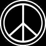 爱与和平标志图案标志logo标识