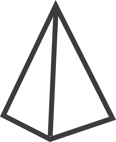 锥体三角锥体三角体框边框