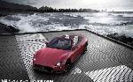 汽车红色背景位图照片