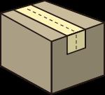 纸箱零食箱箱子快递卡通
